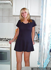 Young blond amateur