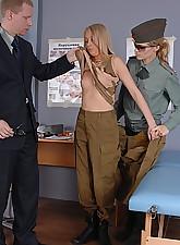 Army blondie severe