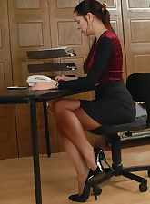 Horny secretary