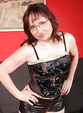 Horny herself