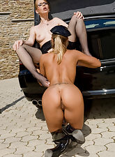Horny policewoman