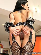 Busty Latina alexis