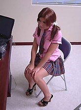 redhead panties