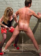 Mistress T blackmails