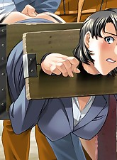 Busty anime busty